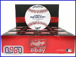 (12) 2017 Home Run Derby MLB Rawlings Baseball Miami Marlins Boxed Dozen