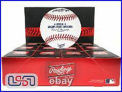 (12) 2019 Home Run Derby MLB Rawlings Baseball Cleveland Indians Boxed Dozen