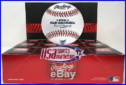 (12) Rawlings 2018 Home Run Derby Major League Baseball Washington Boxed Dozen