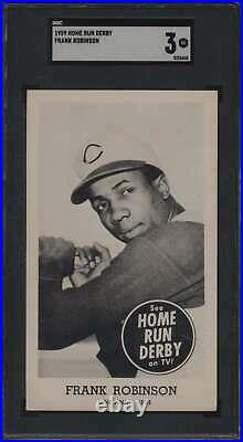 1959 Home Run Derby #16 Frank Robinson HOF SGC 3 VG 60388