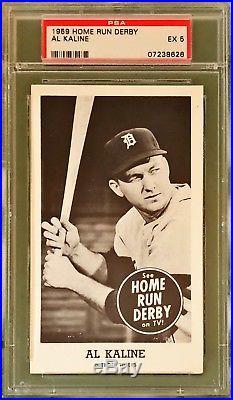 1959 Home Run Derby Al Kaline Psa 5 Detroit Tigers