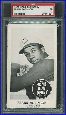 1959 Home Run Derby Frank Robinson Cincinnati Reds HOF PSA Graded