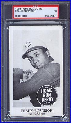 1959 Home Run Derby Frank Robinson PSA 1 Cincinnati Reds HOF