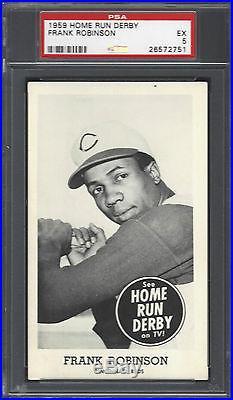 1959 Home Run Derby Frank Robinson PSA 5 19 total pop 3 higher highest 6