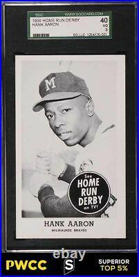 1959 Home Run Derby Hank Aaron SGC 3 VG (PWCC-S)