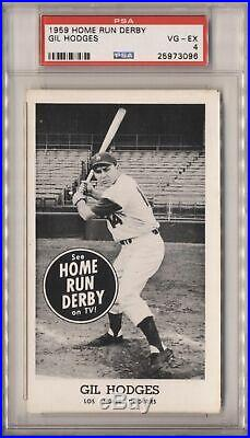 1959 Home Run Derby Hodges, Gil PSA 4 569734