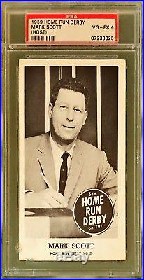 1959 Home Run Derby Mark Scott Psa 4 (host)