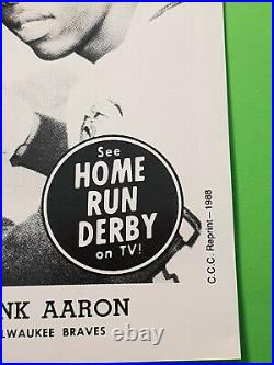 1988 CCC 1959 Home Run Derby Hank Aaron HOF