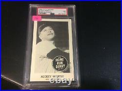 1988 C. C. C. Home Run Derby Reprint Mickey Mantle PSA 7 NM