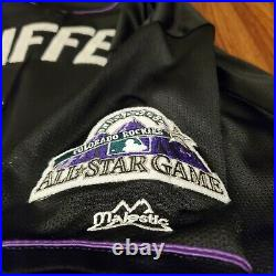 1998 Majestic All Star Game Ken Griffey Jr Home Run Derby Jersey Colorado XXL