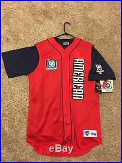 1999 Ken Griffey Jr. All Star Game Home Run Derby Jersey XL Seattle Mariners NWT