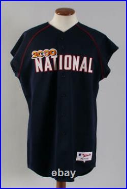 2000 Leo Mazzone Team-Issued All-Star Jersey Home Run Derby COA 100% Authen