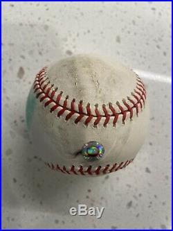 2001 Homerun derby Ball Game Used 2001 Rawlings Baseball RARE Logo Ball
