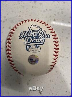 2002 Homerun derby Ball Game Used 2002 Rawlings Baseball RARE Logo Ball