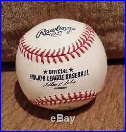 2002 Sammy Sosa Chicago Cubs Signed Home Run Derby Baseball JSA COA Sosa Holo