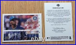 2003 Upper Deck Certified Ken Griffey JR Home Run Derby Winners Autograph 12/12
