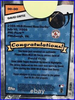 2006 Topps David Ortiz Home Run Derby Digs Red Sox