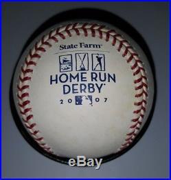2007 Rawlings Home Run Derby Baseball STATE FARM San Francisco Giants RARE