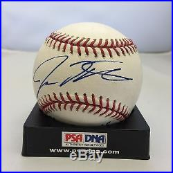 2008 Josh Hamilton & Clay Council Signed Home Run Derby Baseball PSA DNA Auto