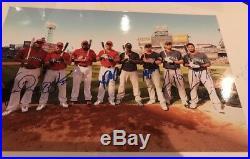 2010 Home Run Derby Autographed 8x10. Miguel Cabrerra