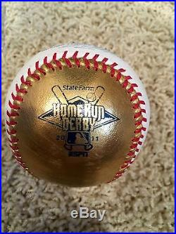 2011 Home Run Derby 24K Gold Ball Matt Kemp