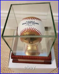 2011 Rawlings 24 Karat Gold Leather Baseball MLB Home Run Derby Precious Surface