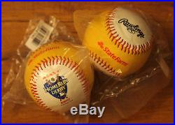 2012 STATE FARM PROMOTIONAL HOME RUN DERBY GOLD RAWLINGS BASEBALL FACTORY SEALED