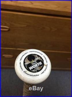 2013 Worth 454 Legit ASA Slowpitch 34/28 oz homerun derby bat