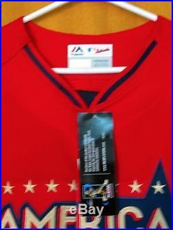 2014 ALL STAR NATIONAL LEAGUE BASEBALL JERSEY Trout Allstar Home Run Derby 2018