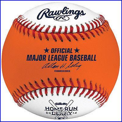 2014 HOME-RUN DERBY ORANGE MONEY BALL FLEXBALL TWINS TARGET FIELD ALL STAR GAME