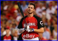 2015 Kris Bryant All Star Game Home Run Derby Jersey & Batting Gloves Auto Cubs