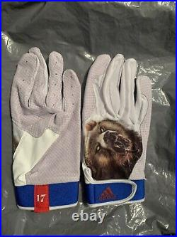 2015 Kris Bryant All Star Game Home Run Derby Model Batting Gloves Size Large