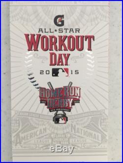 2015 MLB ALL STAR GAME STUB Home Run Derby Unused Ticket 7/13/15