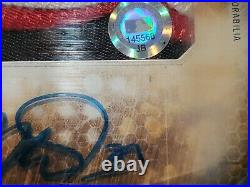 2015 Mike Trout Topps Strata Patch Auto Mlb Cert Home Run Derby /50 Angels