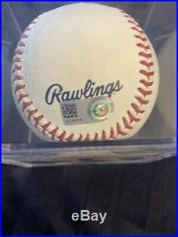2016 Giancarlo Stanton Home Run Derby Game Used Baseball