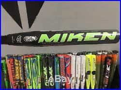 2016 NIW Miken Freak 12 Slow Pitch Softball Homerun Derby Bats Shaved Bats