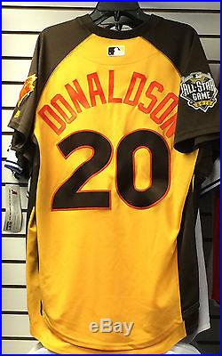 2016 Toronto Blue Jays Home Run Derby Jersey Josh Donaldson 40 Baseball
