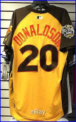 2016 Toronto Blue Jays Home Run Derby Jersey Josh Donaldson 44 Baseball
