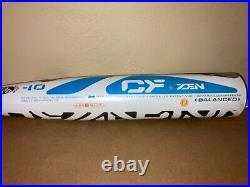 2017 Demarini CF Zen 31/21 -10 CBZ-17 Retooled 2-3/4 Home Run Derby Bat