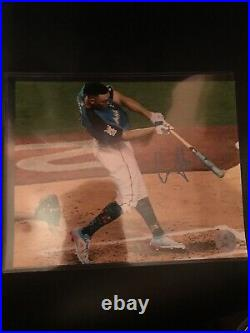 2017 Home Run Derby Aaron Judge Signed 8x10 Photo New York Yankees