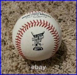 2017 MLB Home Run Derby Game Used Official Major League Baseball Home Run Ball