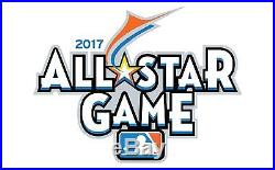 2017 M All-Star Game 1 Ticket strip Marlins Park, Miami, Home Run Derby, More