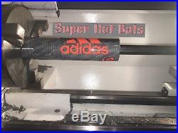 2017 NIW Adidas Melee 2 Senior Slowpitch 12 Homerun Derby Bat Shaved Bats