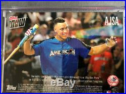 2017 Topps Now Aaron Judge Home Run Derby Sock Relic 48/49 RC