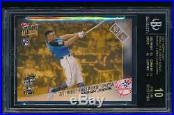 2017 Topps Now #HRD2 Aaron Judge Home Run Derby NY Yankees BGS 10 Black Label