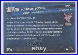 2017 Topps Update Home Run Derby Vintage Stock /99 Aaron Judge #US1 Rookie