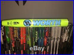 2017 Worth EST Comp 220 Balanced WESTBU Slow Pitch Softball Homerun Derby Bat