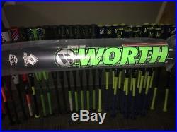 2017 Worth Wicked XL Homerun Derby Slow Pitch Softball Bat Shaved Roll Polymer