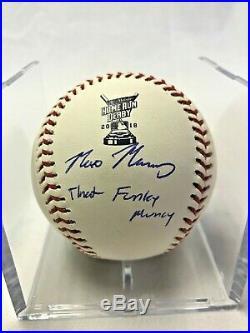 2018 MAX MUNCY Home Run Derby SIGNED Baseball Inscription That Funky Muncy PSA
