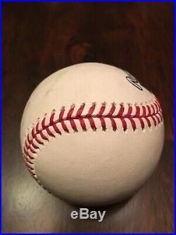 2018 MLB All Star Game Home Run Derby Houston Astros Alex Bregman Game Used Ball